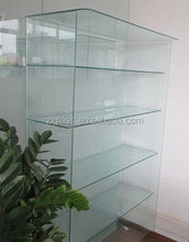 Super quality hot sell jewelry showroom floor showcase/wall display cabinets