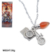 Hot TV Stranger Thing Charm Necklace With Camera Bicycle Light Bulb Pendant Jewelry For Women Girls Gift