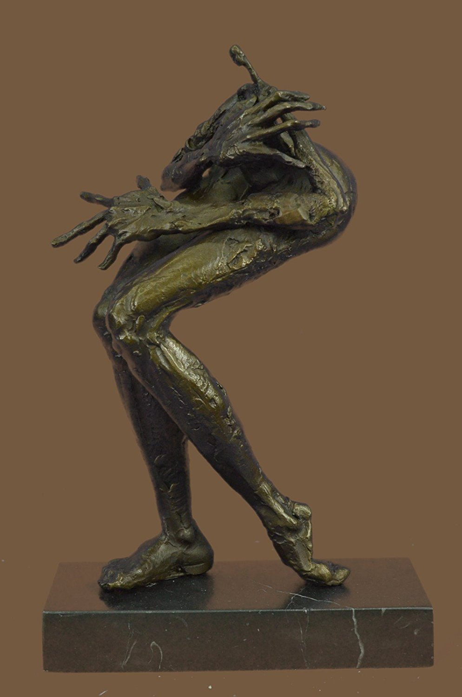 ...Handmade...European Bronze Sculpture Limited Edition Abstract Modern Art Female Monster (1X-XNAB-125) Bronze Sculpture Statues Figurine Nude Office & Home Décor Collectibles Sale Deal Gifts