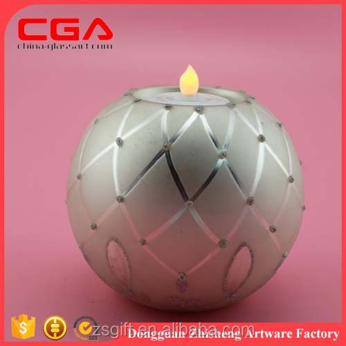 Party Wedding Home Decorations 2017 hot selling glass candle holder for votive, wedding, home decoration