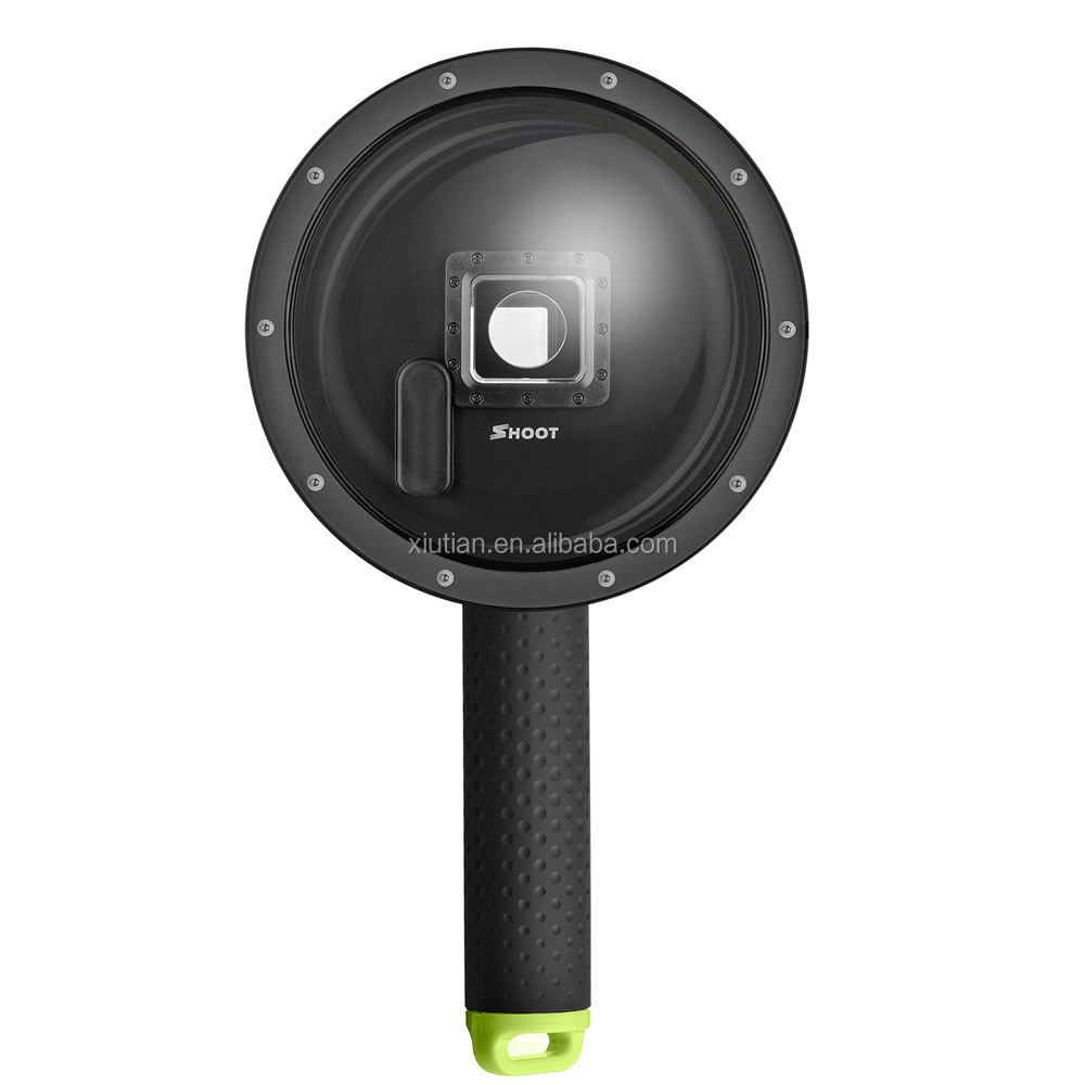 Waterproof for GoPro Dome Port New Design PC Dome Port + Floaty Bobber for Go Pro Hero4 Hero3 Hero3+