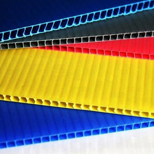 Competitive price various color coroplast sheet roll,invetar board