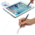 2 in 1 Slim Metal Universal Touch Screens Devices Capacitive  Ballpoint Stylus Pen