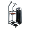 Gym upper limbs weight assisted chin dip machine