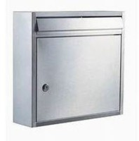 Stainless Steel Mail Delivery Post Office Box