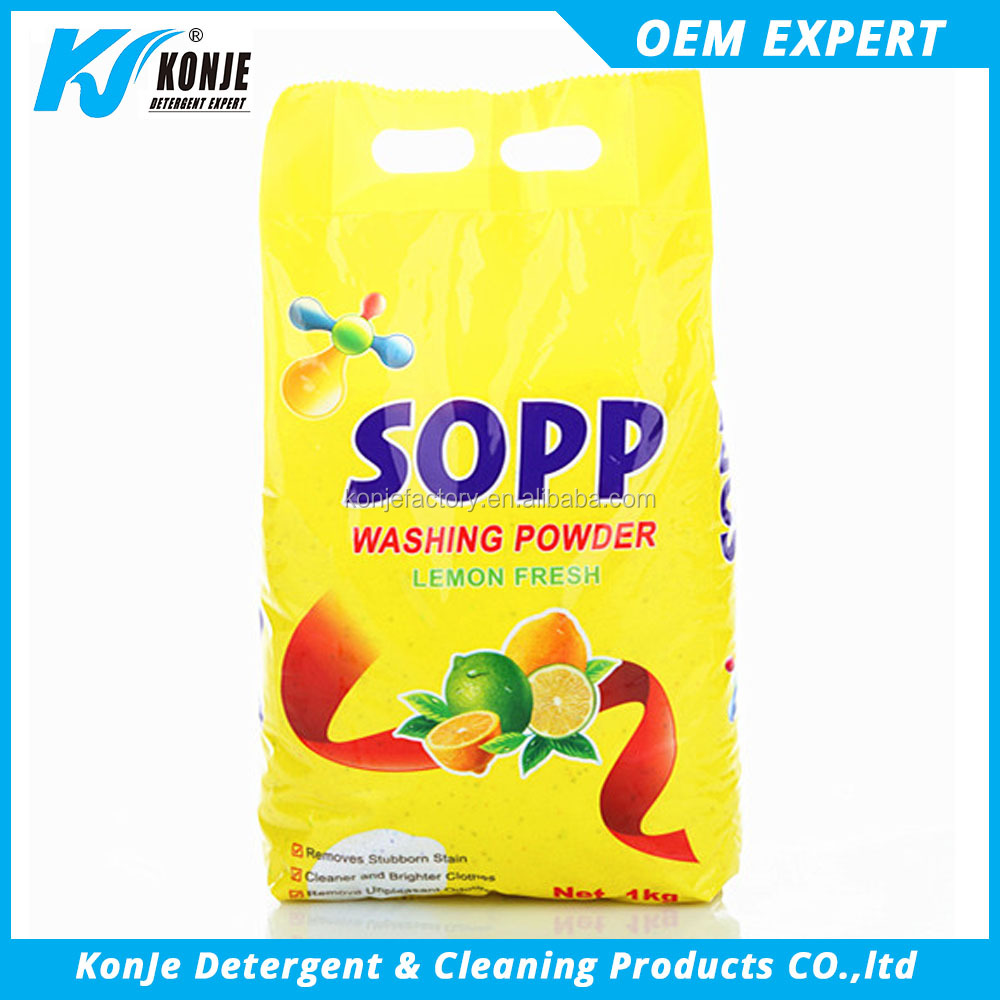 famous amaze cheap commercial antibacterial laundry detergent washing powder detergent soap making formula for African Market