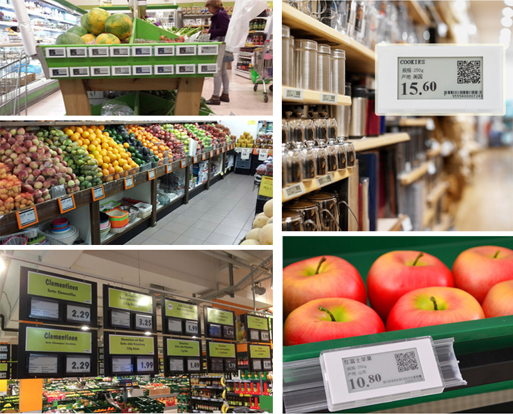 Electronic Shelf Label Manufacturer With Newest Intelligent System Customized For Supermarket