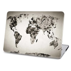 best price for world map macbook pro case 13 inch laptop hard pc cover case with edge cover