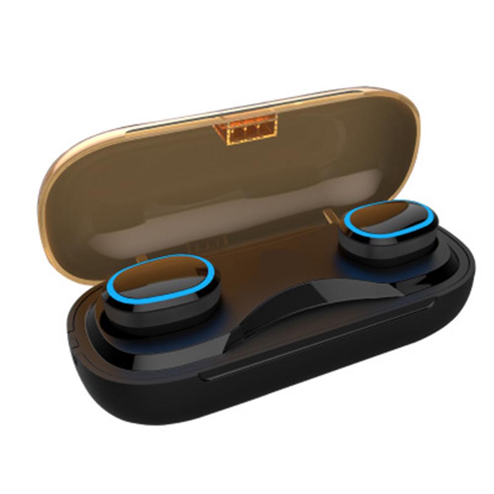 Waterproof IPX7 Swimming Bluetooth Earbuds 2000mAh Charging Case BT headphone фото