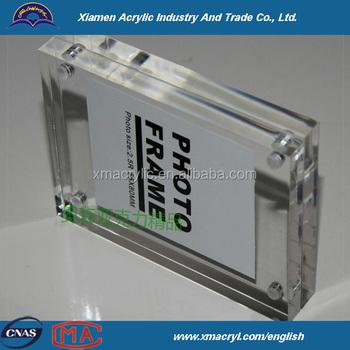 desktop acrylic magnetic frames 5x7 8x10 85x11