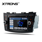 "XTRONS 7"" touch lcd screen car audio radio gps dvd player for suzuki swift"