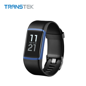 Customized Color Heart Rate Monitor Bluetooth Smart Bracelet Fitness Tracker