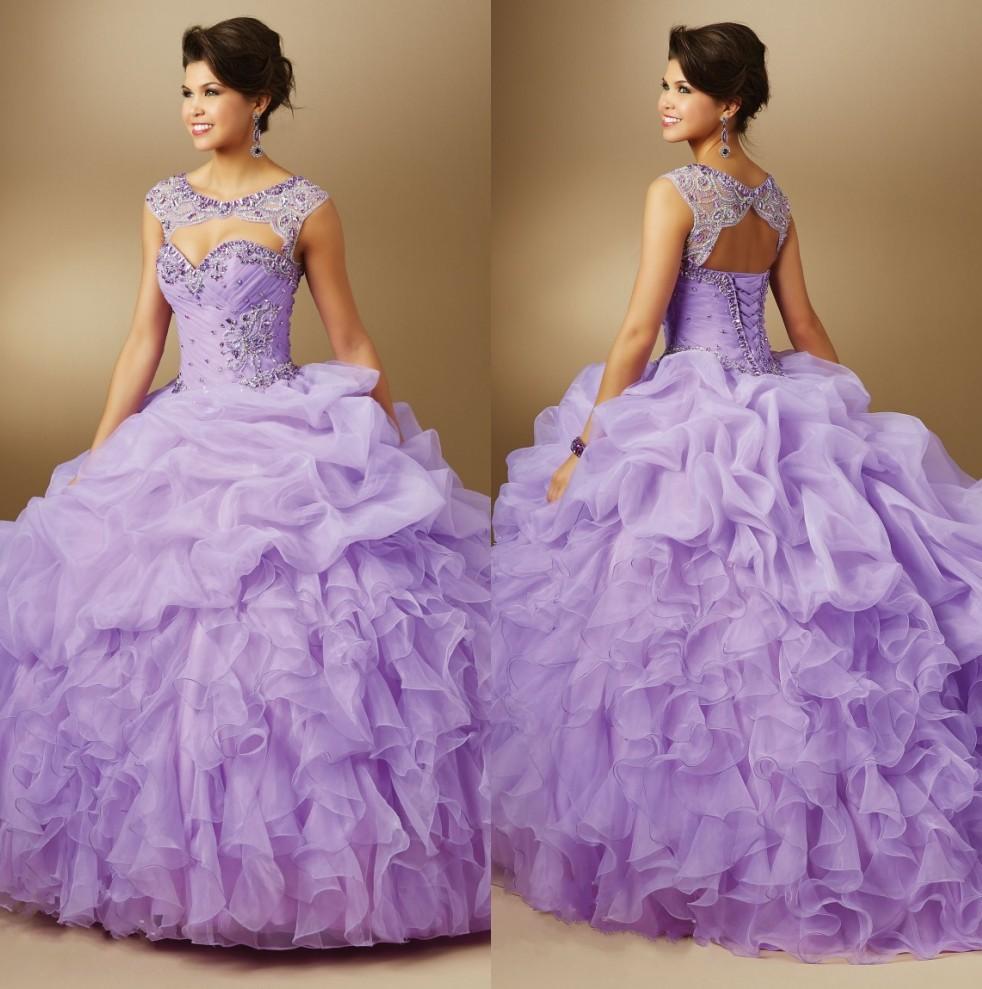 Popular Light Purple Quinceanera Dresses-Buy Cheap Light ...