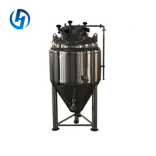 Imported parts copper beer conical fermenters fermentation tank