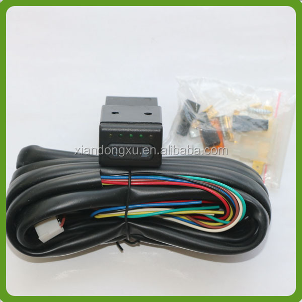 CNG LED indicator Switch with manometer and harness