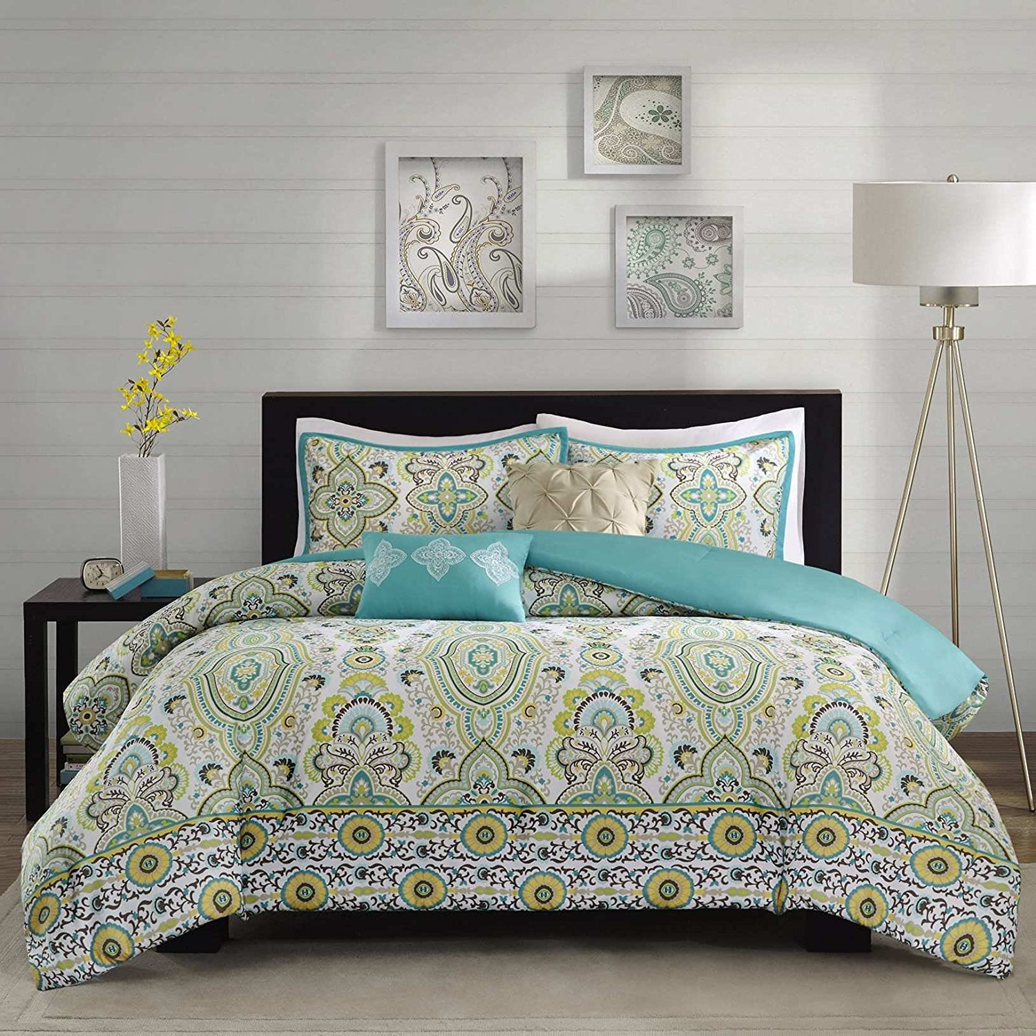 Buy New Floral City Brand New Floral Contemporary Green
