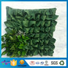 Eco-Friendly Garden Decorated Green Grow Bag Gardening Vertical Planter Bag Household Garden Felt Grow Bags