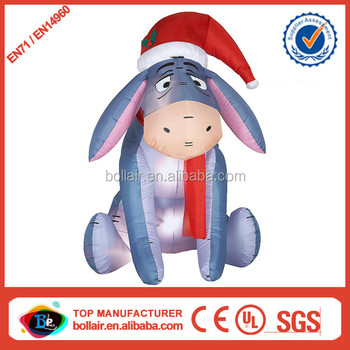 promotion sale cheap home use christmas inflatable eeyore buy