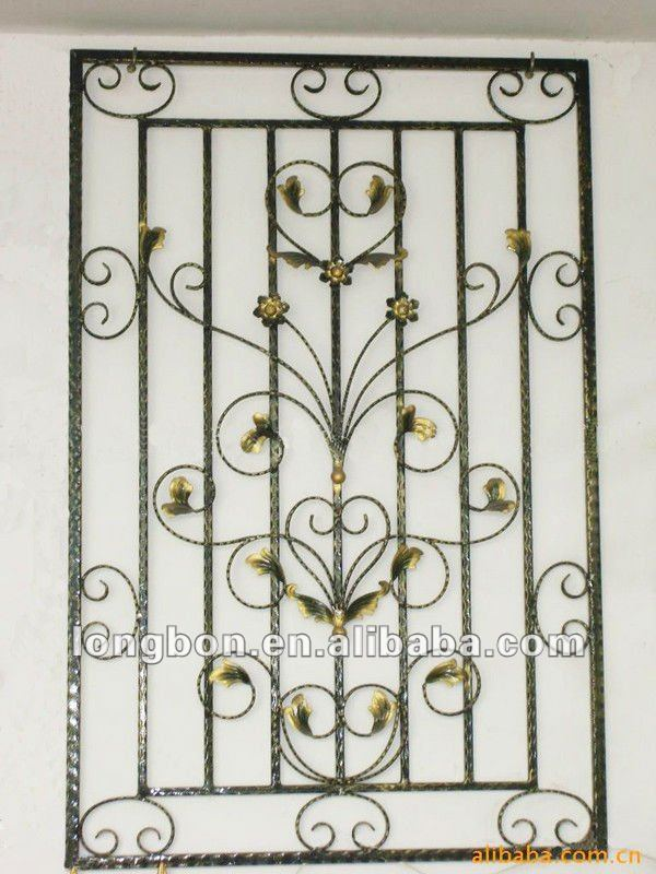 Artistic Iron Window Guard Design View Artistic Iron Window Guard