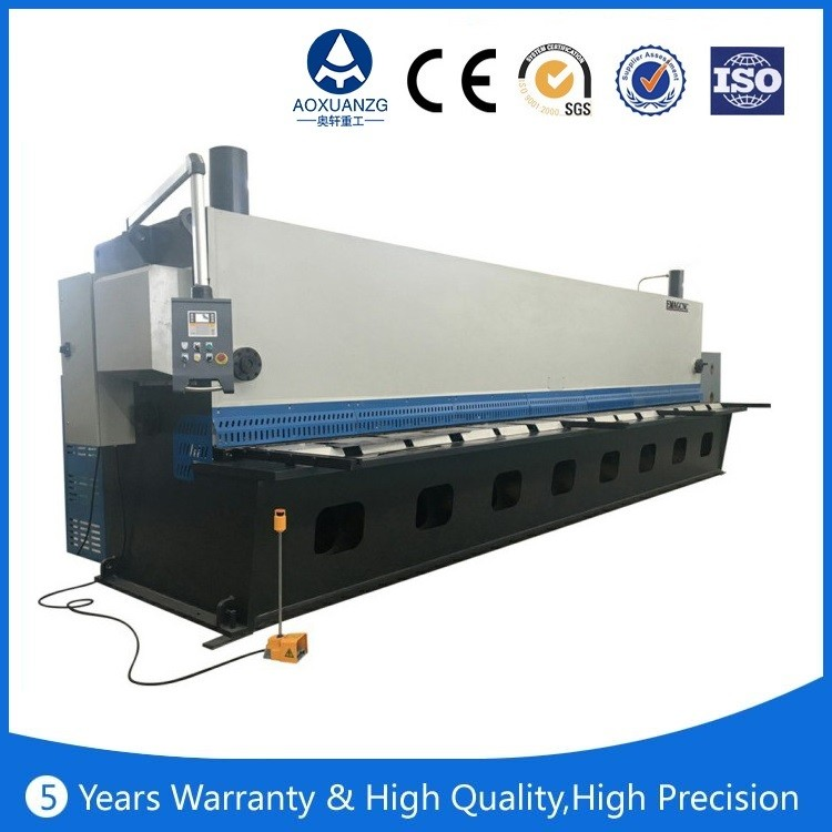 good quality QC12K/Y 2.0 meter steel metal shearing machine,hydraulic steel cutting machine ,<strong>iron</strong> shearing machine
