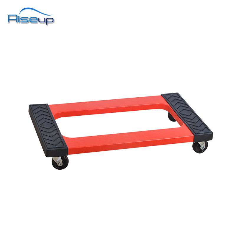 1000lbs red plastic durable mover dolly mover's dolly