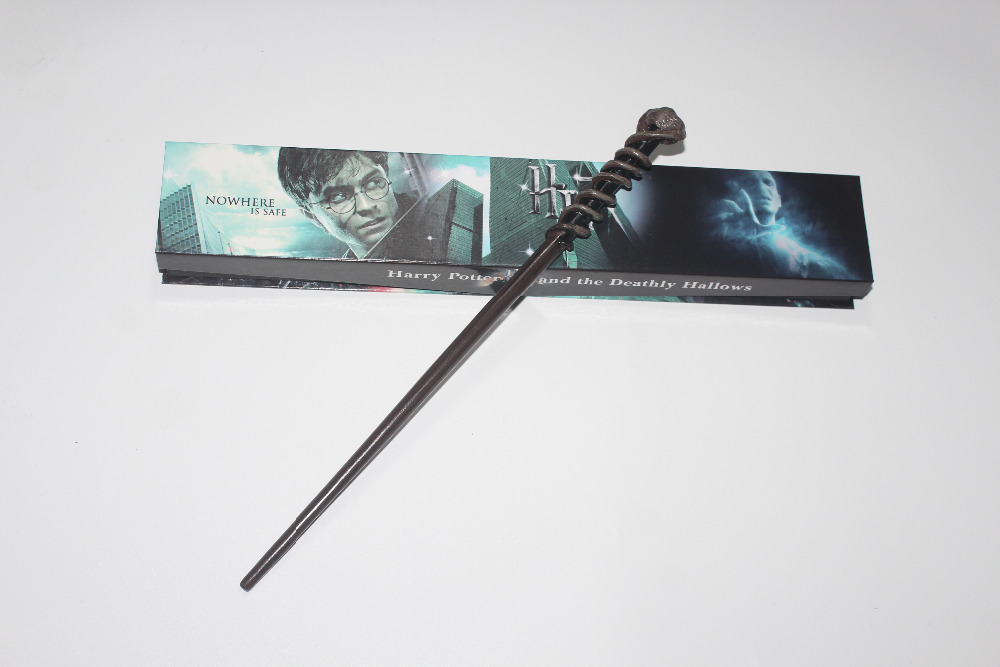 New Version Dean Thomas Harry Potter Series Magic Wand With Gift Box Metal Core Cosplay Prop