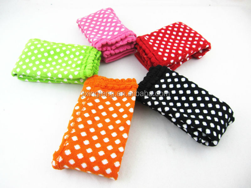 Socks.baby girl Cotton Colorful dots Pantyhose