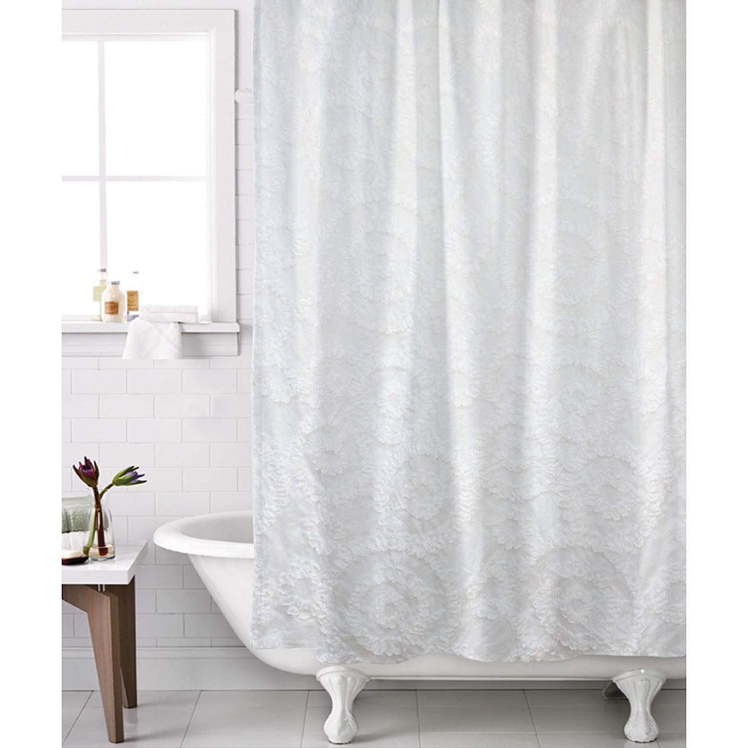 Cheap Luxury White Shower Curtain Find Luxury White Shower