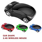 2.4GHz wireless classical car computer mouse