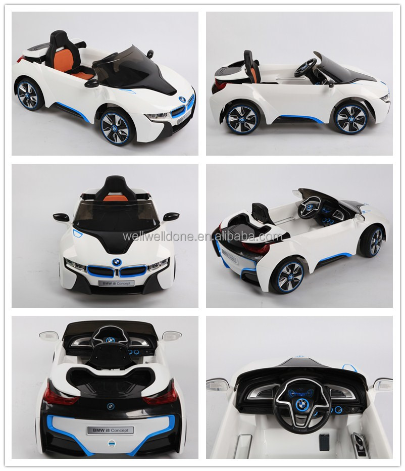 wdje168 licensed bmw i8 concept ce new model ride on kids car electrical materials remote control
