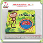 children books with sound effects. sound books with Story teller IC sound mould