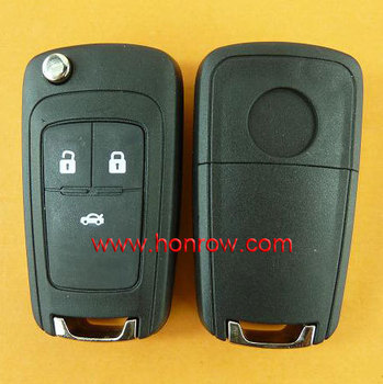 Good quality chevrolet cruze key chevrolet 3 button remote key blank chevrolet key cover