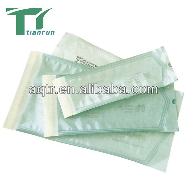 Medical autoclave and ethylene oxide Self-seal Sterilization Pouches For packing datex-ohmeda accessories