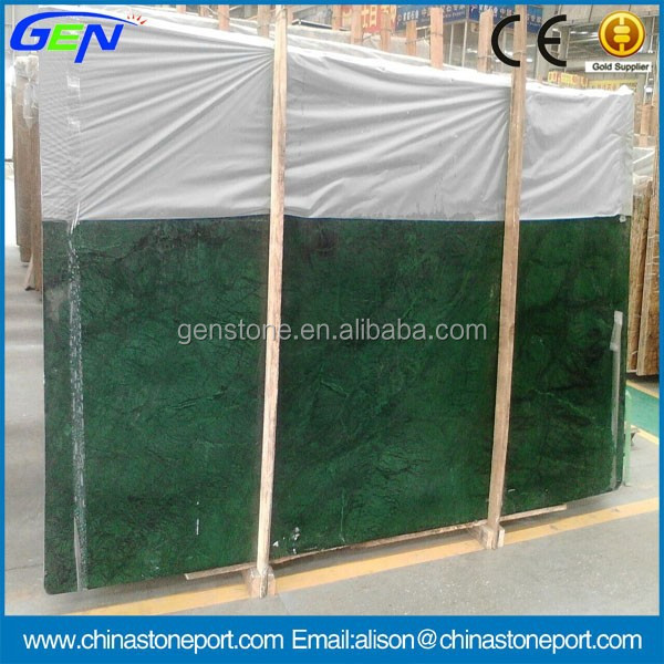 traditional polished verde guatemala green marble