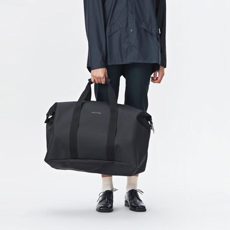 2019 Cheap price waterproof pu leather business men's travel bag men big Duffel Handbags