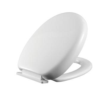 Bathroom Soft Close Lighted Toilet Seat Adjustment Walnut Toilet