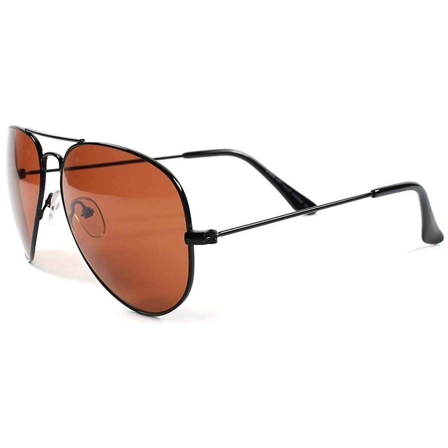 6106072f899 Get Quotations · Classic Wire Frame Amber Lens Blue Blocker Driving Outdoor  Sunglasses