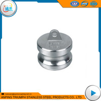 1'' 316 Stainless Steel Quick Coupling Dust Cap