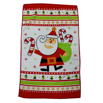 Alibaba High Absorbent Quick Dry Christmas Wholesale Microfiber Embroidery Oil Absorb Kitchen Cleaning Towel