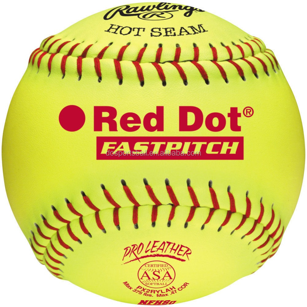 "12"" Yellow Cover BRO .47 cor - 375lb Max. comp. Softball"
