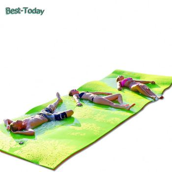Best-Today Top quality large mat lake floating beach foam swim mats for rivers