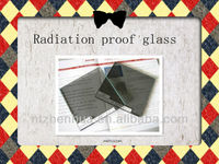 Professional for medical X ray -- radiation proof glass