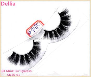 10bb0f599da Dellia Eyelash Manufacturer Professional Mink Lashes 3D High End Quality