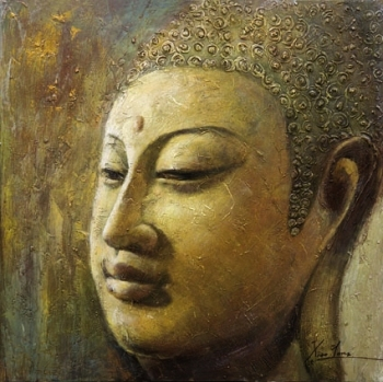 Modern Buddha Painting For Wall Decoration Art Abstract