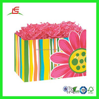 Q938 Classic Printed Wholesale Valentine Gift Basket In China