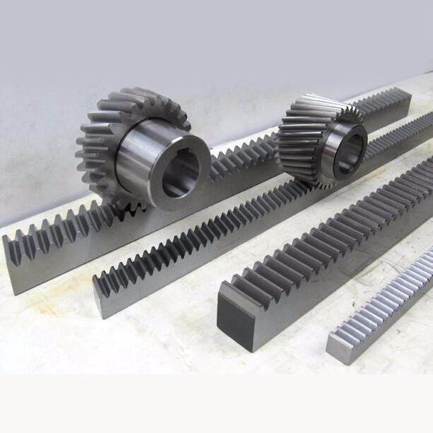MMS helical rack and pinion / high precision helical teeth gear rack / helical gear 1.25m