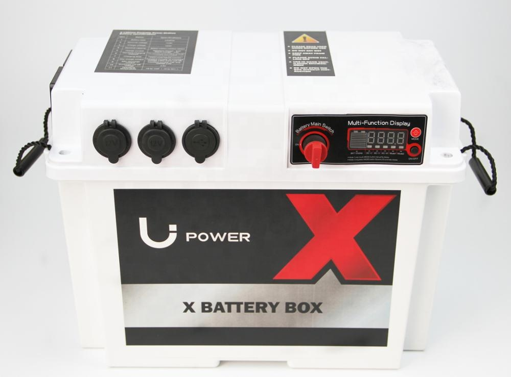 high quality AC/DC RV battery Box for automotive, marine and camping