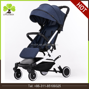 Light-Weight Baby Stroller Portable One-Key Easy Folding 5.8 Kg Single Hand Carry On Flight Infant Travelling Lying Pram