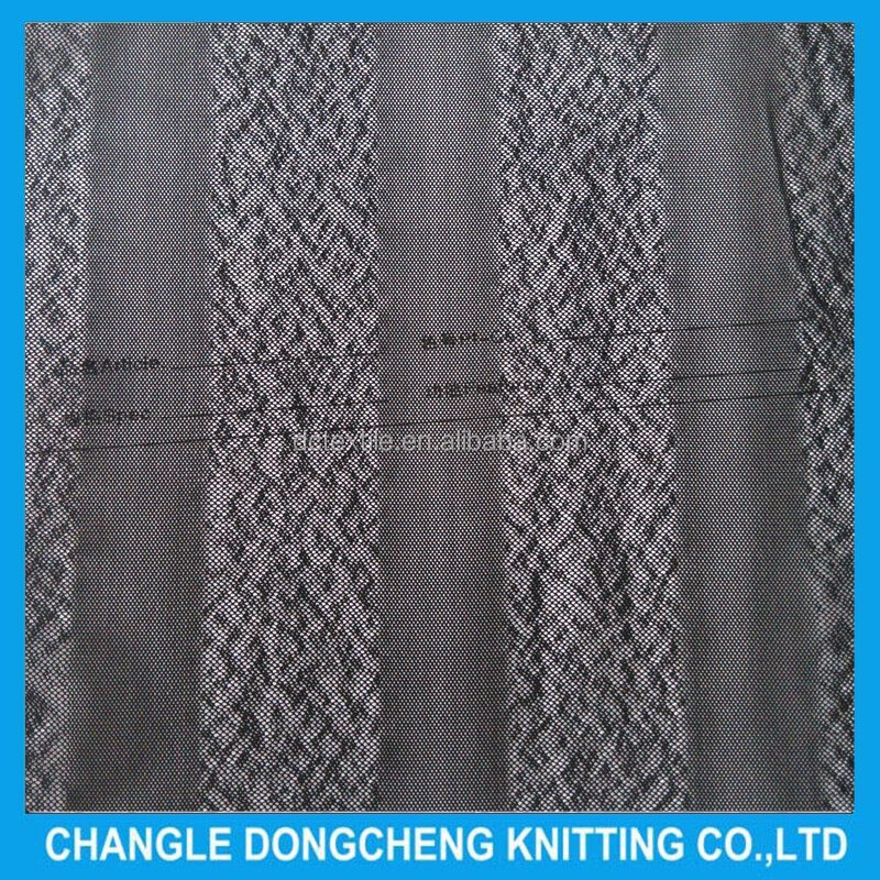 Dongcheng breathable soft wrap knitted stretch mesh polyester fabric for garment