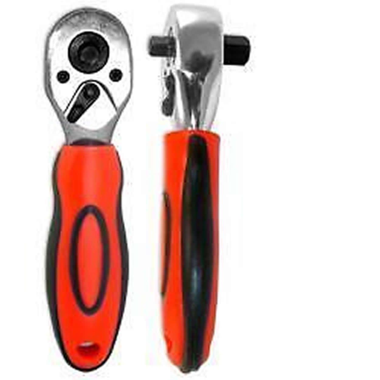 Cal Hawk Tools ASPRH34L 3//8 /& 1//2 Dual Ratchet Handle
